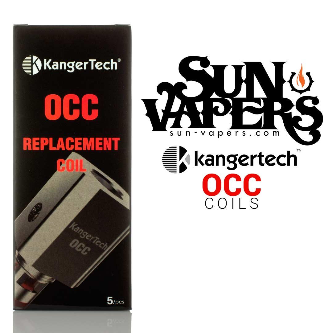 Kanger OCC 0.5 and 1.2 ohm Coils