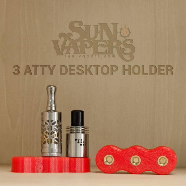 3 Atty Desktop Holder