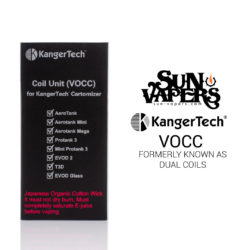 Kanger Dual Coils Upgraded