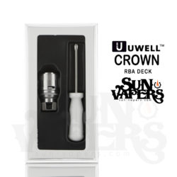 RBA Deck for Crown Tank by Uwell