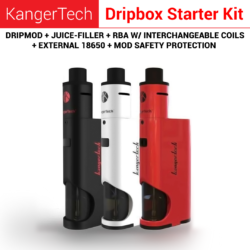 Dripbox Rba System with interchangeable coils