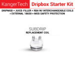 Replacement coils for dripbox starter kit